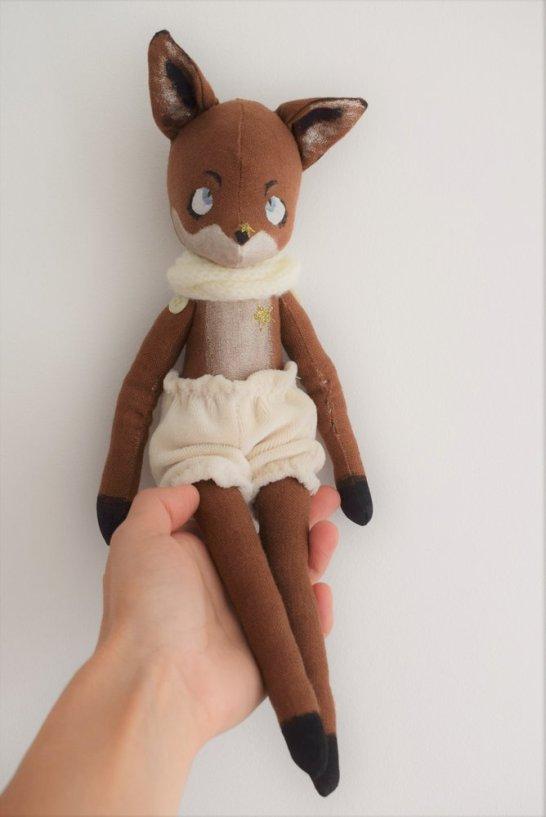 Le renard chez Bouclette et ptit épi.